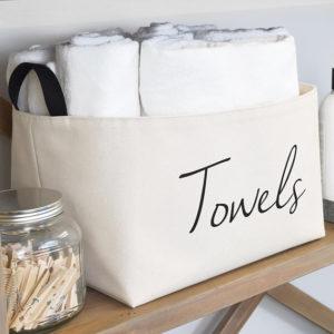 Laundry Room Organization Farmhouse Decor Baskets Bins