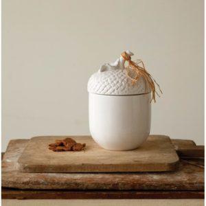 Modern farmhouse kitchen decor - canisters, utensils storage - cookie jar