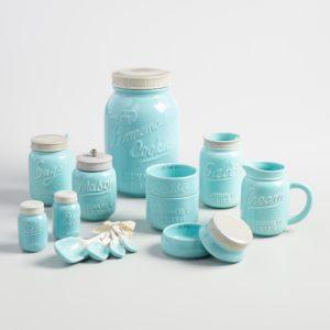 mason jar storage set - wm