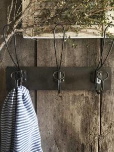 vintage metal coat rack - farmhouseironco