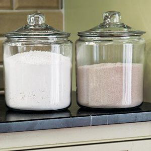 Modern Farmhouse Kitchen Decor Canisters Utensils