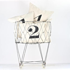 Collapsible Wire Laundry Basket