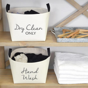 Dry Clean Only - Laundry Basket
