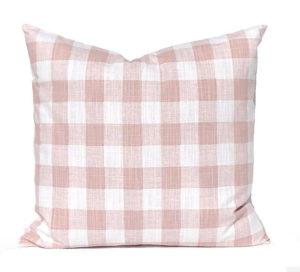 Farmhouse Pillow Covers - Buffalo Plaid - by Michelle