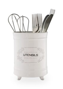 Rustic French Country Utensil Crock