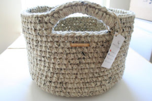 Stylish Crochet Basket