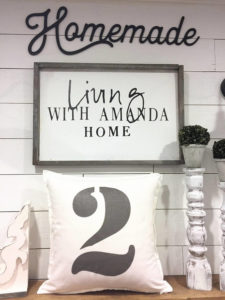 personalized number pillows - by Amanda