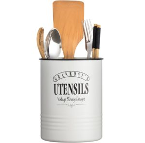 Rustic Country Farmhouse vintage utensil canister