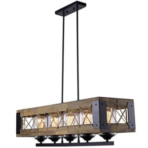 5 Light Kitchen Island Pendant - LNC Home