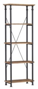 Bookcase Shelves, Brown Black