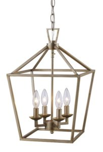 Carmen 4-Light Pendant Laurel Foundry