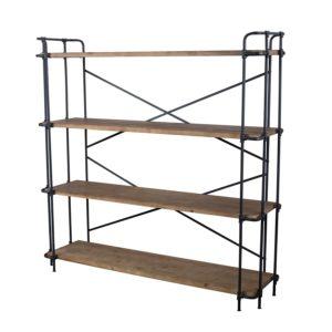 Denise Austin Home Mercia 4-Shelf Bookcase