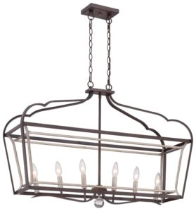 Evangeline 6-Light Kitchen Island Pendant by Laurel Foundry