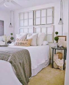 Faux Window Frames Rustic and Very Distressed - palletsandpeonies
