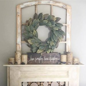 Handmade Decorative Window Frame Medium