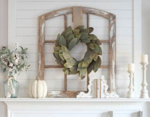 Handmade Decorative Window Frame - Medium