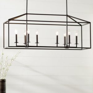 Odie 8-Light Kitchen Island Pendant - Laurel Faundry