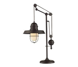 Black Farmhouse Table Lamp