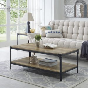rustic farmhouse coffee table - Arboleda Coffee Table by Loon Peak