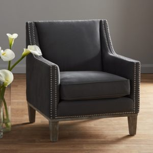 comfortable farmhouse armchair - Bergerac Armchair by One Allium Way via Wayfair