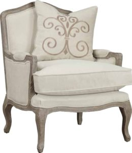 comfortable farmhouse armchair - Folmar Armchair by Lark Manor via Wayfair