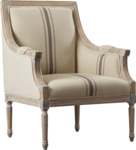 comfortable farmhouse armchair - Lyster Armchair by Lark Manor via Wayfair