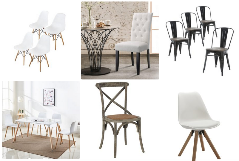 Modern farmhouse dining room chairs