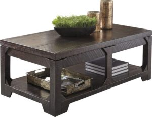 rustic farmhouse coffee table - Skylar Lift Top Coffee Table by World Menagerie