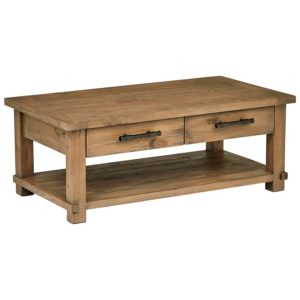 "rustic farmhouse coffee table - Stone & Beam Ferndale Rustic Coffee Table, 51"" W, Pine - Amazon"