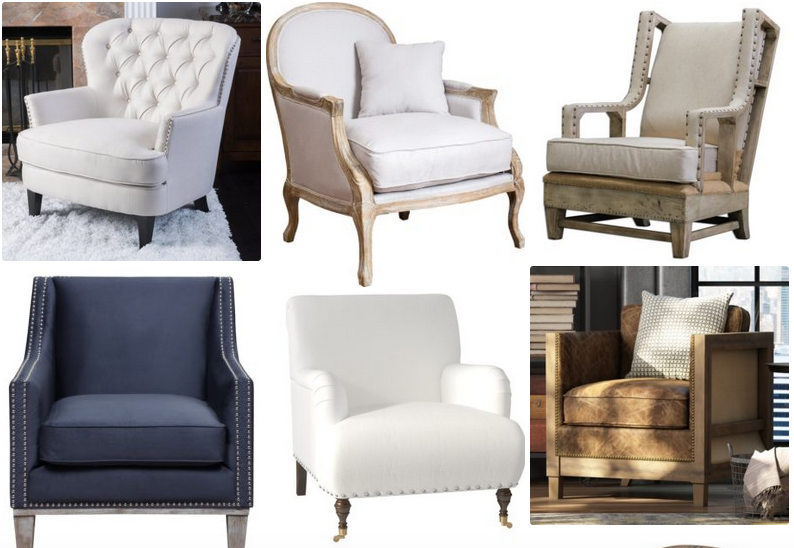 rusticcountryfarmhouse.com - comfortable farmhouse armchairs